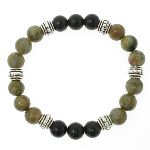 Repressed Emotions 8mm Crystal Intention Bracelet