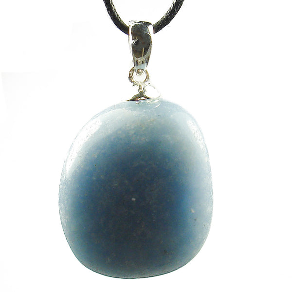 Angelite Tumbled Crystal Pendant