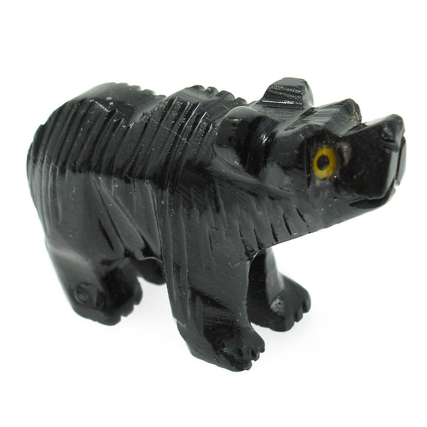 Black Onyx Bear Spirit Animal