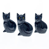 Black Onyx Cat Spirit Animal - (3 inch)