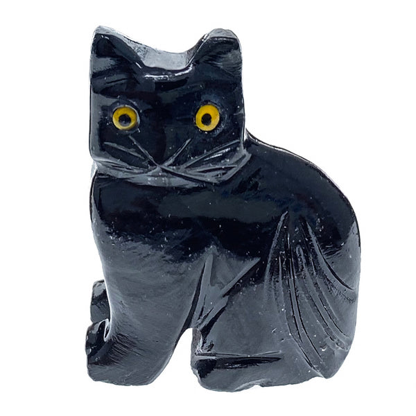 Black Onyx Cat Spirit Animal