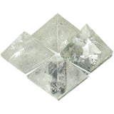 Clear Quartz Crystal Pyramid