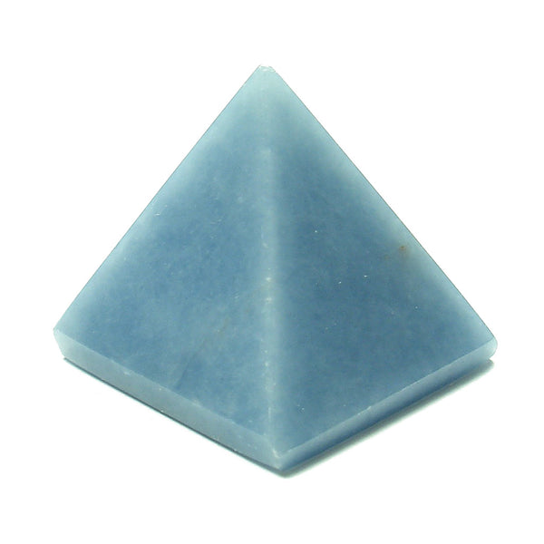 Angelite Crystal Pyramid