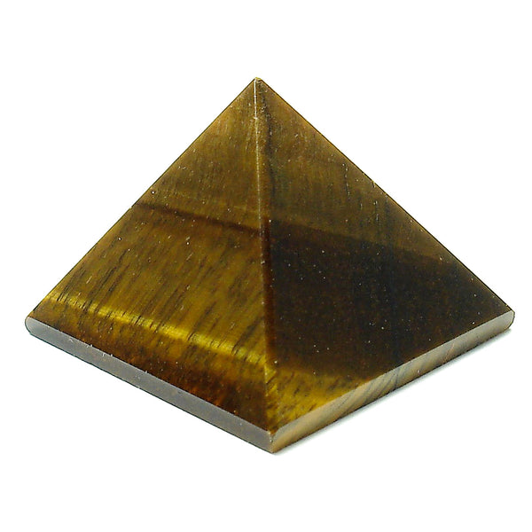Tiger's Eye Crystal Pyramid