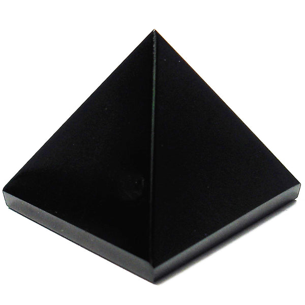 Onyx (Black) Crystal Pyramid