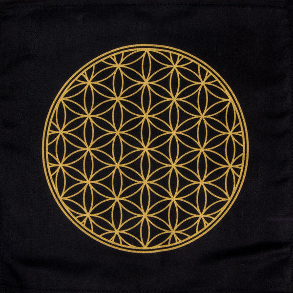 Crystal Grid - Flower of Life Sacred Geometry