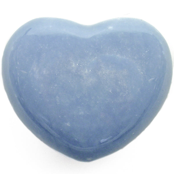 Angelite Crystal Heart