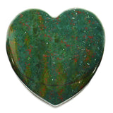 Bloodstone Crystal Heart