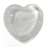Clear Quartz Crystal Heart