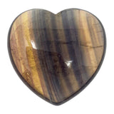Fluorite Crystal Heart