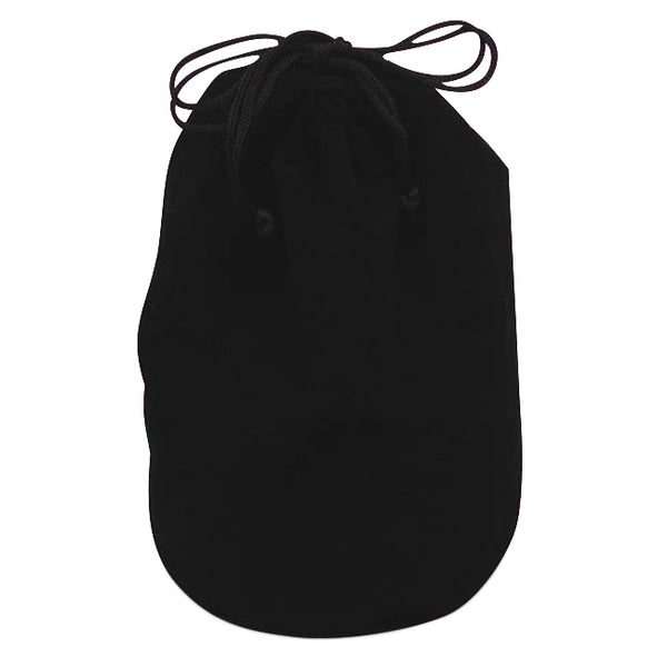 Black Velour Pouch