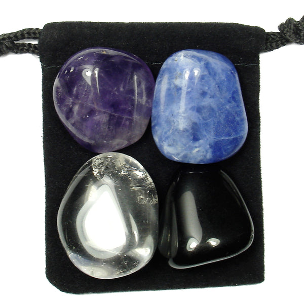 Autism Support Tumbled Crystal Healing Set