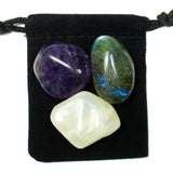 Third Eye Chakra Tumbled Crystal Healing Set