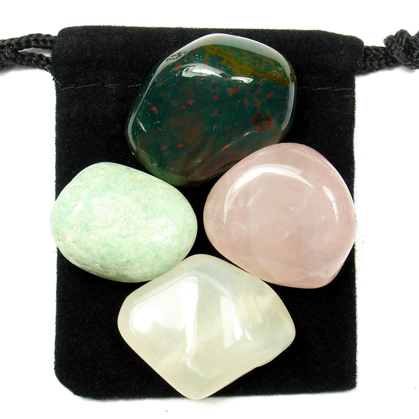 Feminine Energy Tumbled Crystal Healing Set