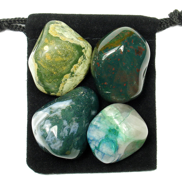 Infection Fighter Tumbled Crystal Healing Set