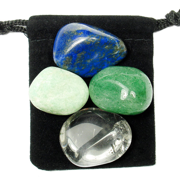 Nervous System Tumbled Crystal Healing Set