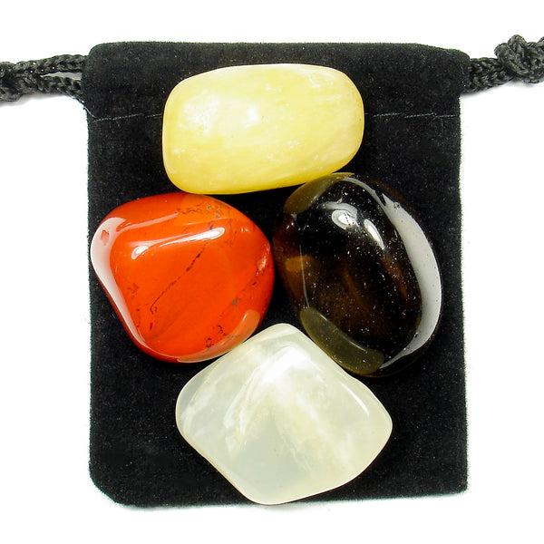 Stress Relief Tumbled Crystal Healing Set