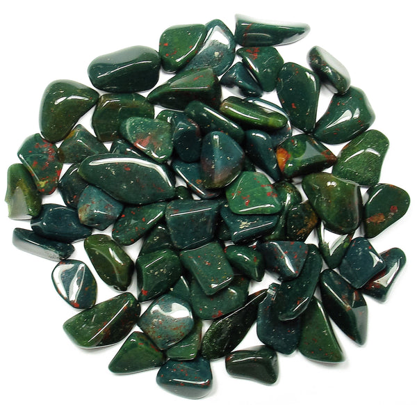Bloodstone Tumbled Crystal Sharing Stones