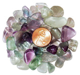 Rainbow Fluorite Tumbled Crystal Sharing Stones