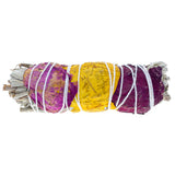 Smudge Stick - Rose Petals & White Sage