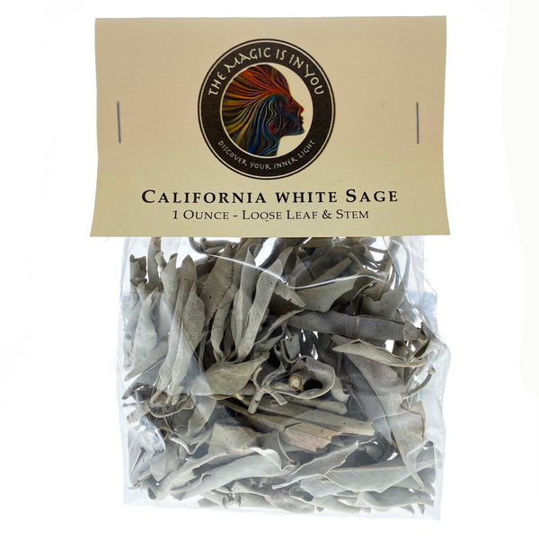 Smudge - California White Sage Loose Leaves & Stems