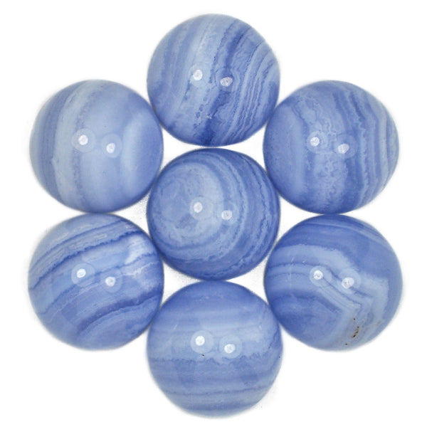 Blue Lace Agate Crystal Sphere (18mm)