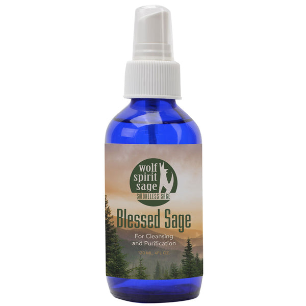 Smudge Spray - Blessed Sage Smokeless Smudge