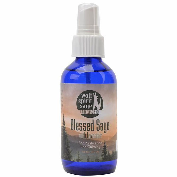Smudge Spray - Blessed Sage with Lavender Smokeless Smudge