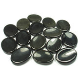 Agate (Black) Crystal Worry Stone