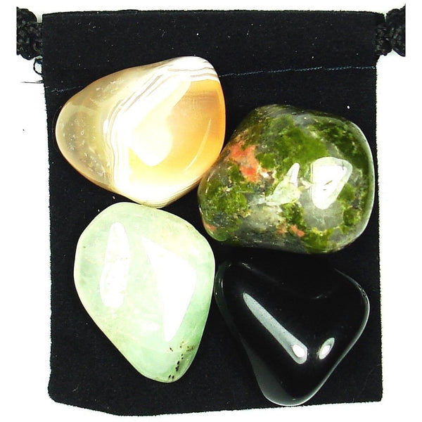 Spiritual Growth Tumbled Crystal Healing Set