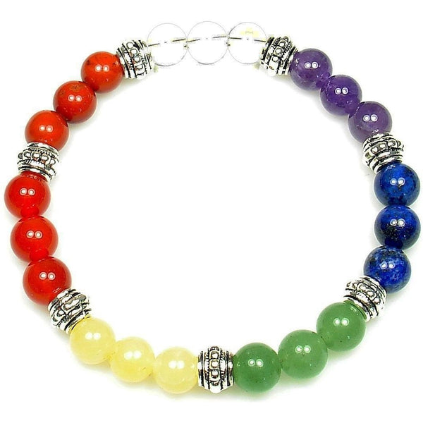 Chakra Balancer 8mm Crystal Intention Bracelet