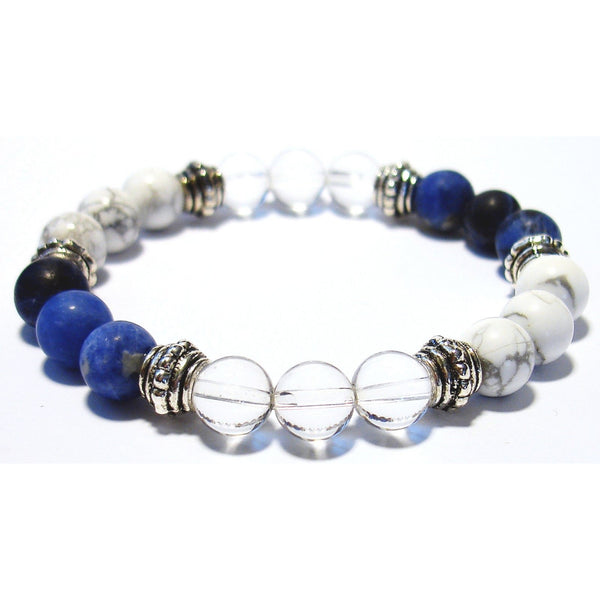 Loosen Up 8mm Crystal Intention Bracelet