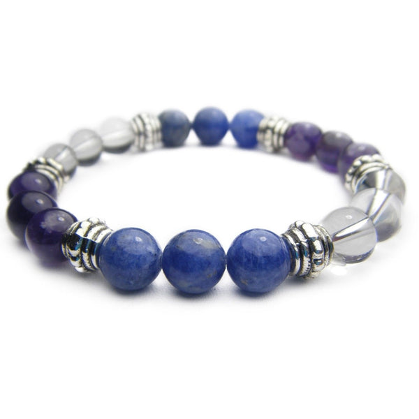 Psychic Intuition 8mm Crystal Intention Bracelet