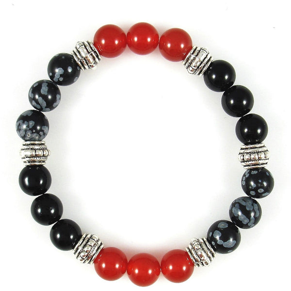 Sacral Chakra Balancer 8mm Crystal Intention Bracelet