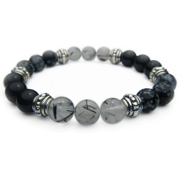 Balance of Mind, Body, & Spirit 8mm Crystal Intention Bracelet