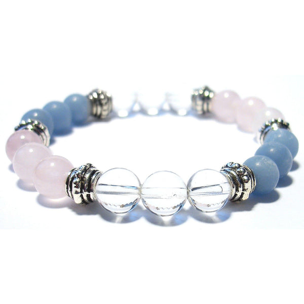 Inner Healing 8mm Crystal Intention Bracelet