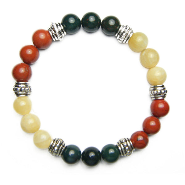 Anxiety Tamer 8mm Crystal Intention Bracelet