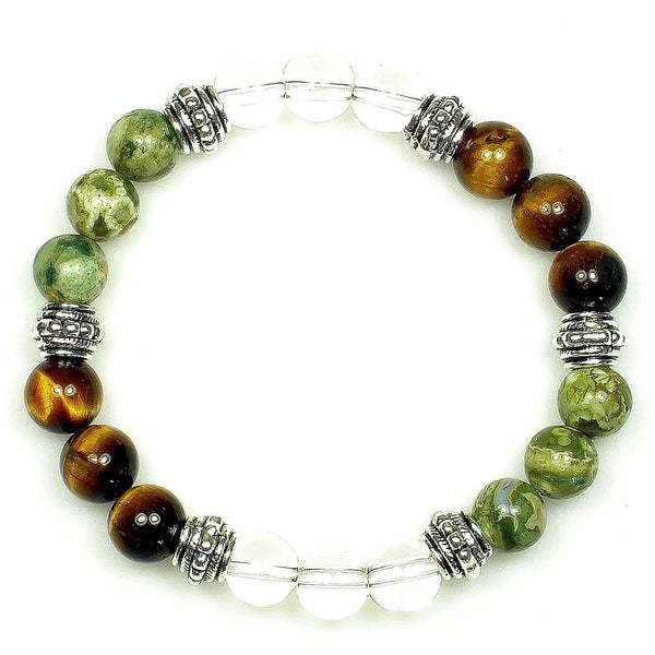 Life Path 8mm Crystal Intention Bracelet