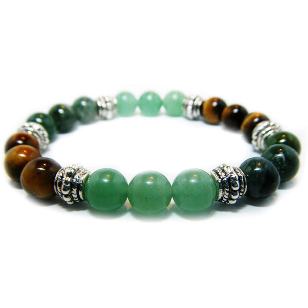 Prosperity & Abundance 8mm Crystal Intention Bracelet
