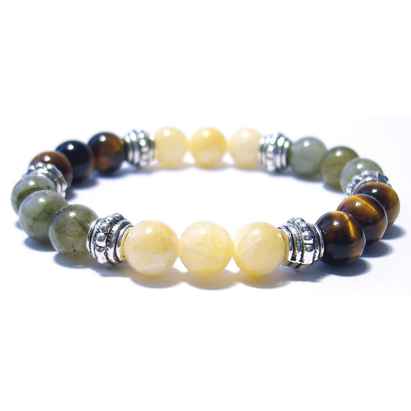 Higher Consciousness 8mm Crystal Intention Bracelet