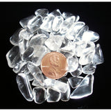 Clear Quartz Tumbled Crystal Sharing Stones