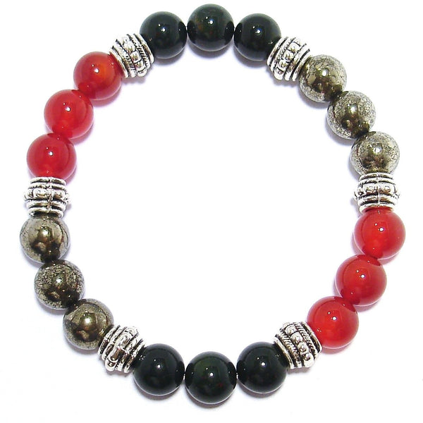 Physical Energy Boost 8mm Crystal Intention Bracelet