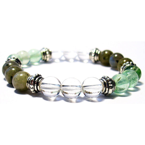 Aura Healing & Repair 8mm Crystal Intention Bracelet