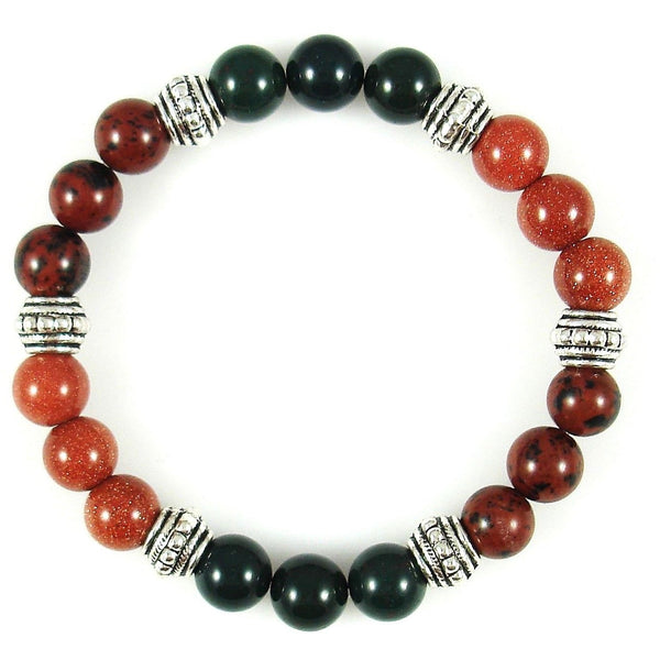 Blood Circulation 8mm Crystal Intention Bracelet