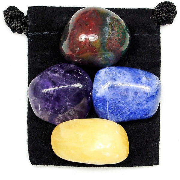 Spiritual Awareness Tumbled Crystal Healing Set