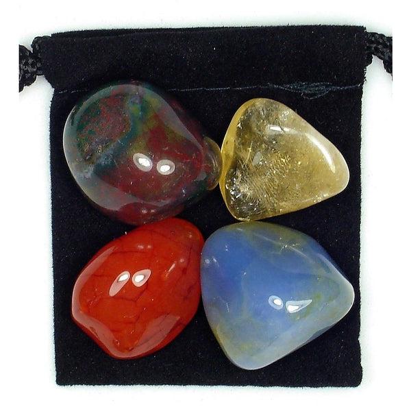 Energy Boost Tumbled Crystal Healing Set