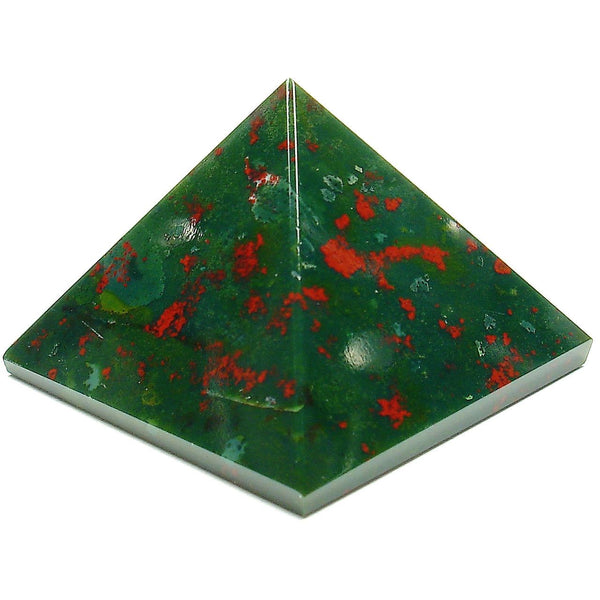 Bloodstone Crystal Pyramid