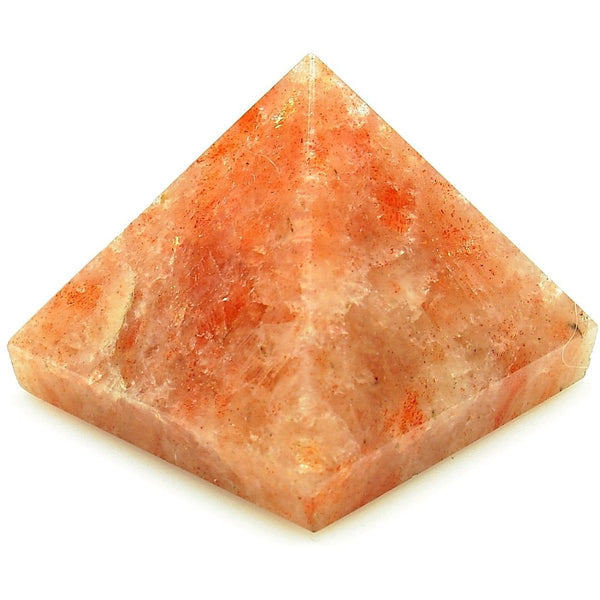 Sunstone Crystal Pyramid