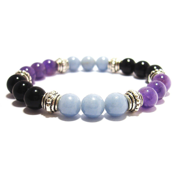 Physical Pain Relief 8mm Crystal Intention Bracelet
