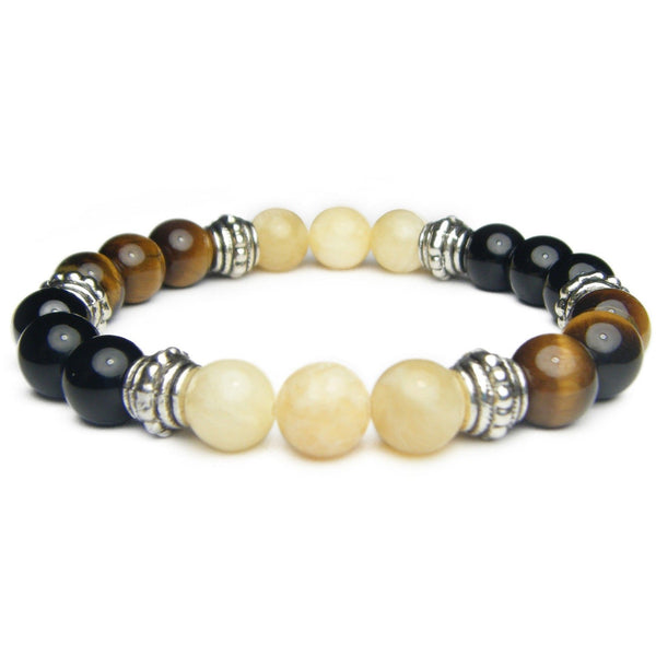 Addiction Recovery 8mm Crystal Intention Bracelet